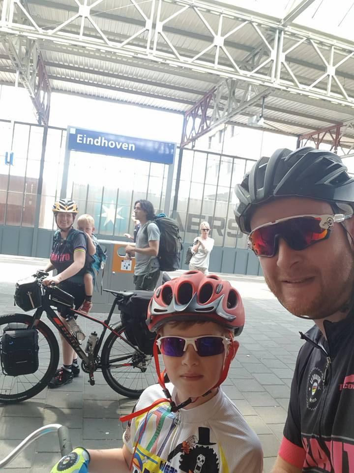 Arrivée à Eindhoven